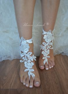 Barefoot Sandals wedding shoes barefoot sandals by UnionTouch