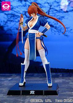 Dead or Alive - Kasumi - EX Figure - Blue ver. (SEGA)