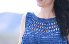 Summer Vacation Easy Crocheted Top Pattern – Mama In A Stitch Basic Crochet Stitches, Crochet Basics, Crochet For Beginners, Crochet Cardigan Pattern, Sweater Knitting Patterns, Baby Patterns, Crochet Patterns, Crochet Ideas, Crochet Projects
