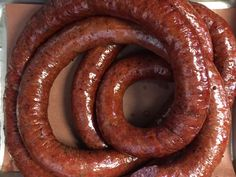 beef sausage When a process is notoriously complicated and unpleasant, people tend to trot out a time-worn idiom: you don't want to know how the sausage gets made. Texas Sausage Recipe, Smoked Sausage Recipes, Homemade Sausage Recipes, Smoked Beef, Meat Recipes, Bologna Recipes, Venison Recipes, Smoker Recipes, How To Make Sausage
