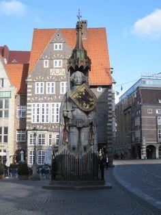 Statue of Roland, Bremen, Germany