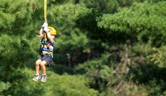 Hocking Hills ZipLine for Kids, Dragonfly Canopy Tours Photos