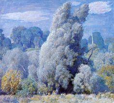 Wind Willows soufflé de Daniel Garber (1880-1958, United States)