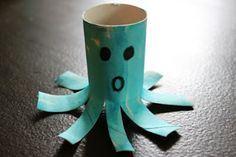 The Activity Mom: Toilet Paper Roll Alphabet Crafts - O is for Octopus