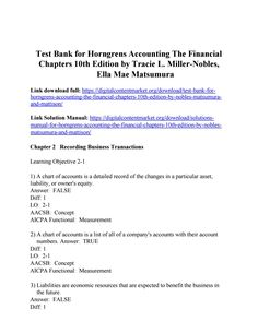43 best test bank 2 images on pinterest in 2018 biochemistry download test bank for horngrens accounting the financial chapters 10th edition by nobles matsumura fandeluxe Choice Image