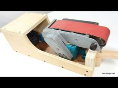 Belt Sander Stand - Can Sit In 3 Positions