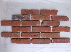 Antikriemchen Ziegelsteine Mauerziegel Backsteine retro Verblender Klinker