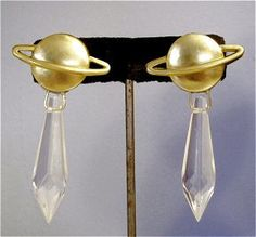Sailor Saturn Earrings by CatziasCollectibles on Etsy, $15.95