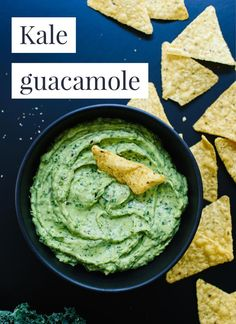 This kale guacamole