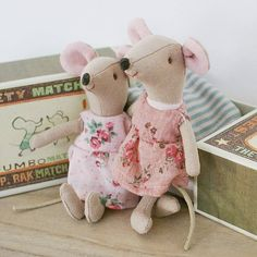 big sister matchbox mouse by the chic country home | notonthehighstreet.com