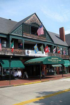 RI - Newport - Newport Casino - McKim, Mead, & White   #VisitRhodeIsland