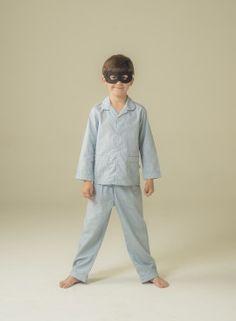 Smart boy's blue cotton pyjama to look like daddy!!! #pyjama #pyjamaforboy #pijama #pijamagarçon #pyjamacotton #cottonpyjama #pijamacotton