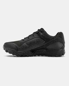Men's UA Valsetz RTS 1.5 Low Tactical Boots, Black Top Basketball Shoes, Volleyball Shoes, Boys Shoes, Men's Shoes, Gore Tex Hiking Boots, Training Underwear, Running Shops, English Men, Underwear Shop