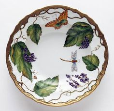 Wildberries Lavender Dinnerware by Anna Weatherley