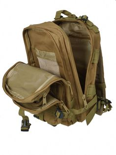 Product Description - Material: Oxford Cloth - Color: Brown - Capacity: - Waterproof - 2 Exterior Pockets - Weight: 2 lb - Dimensions: x x - Gender: Unisex - Backpack Type: Softback - Cl Trekking Outfit, Summer Camping Outfits, Forest Camp, School Backpacks, Canvas Backpacks, Oxford, Hiking Clothes, Unisex, Forests