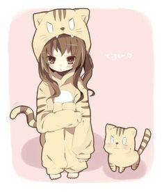 "The ""Palmtop Tiger"" Anime: Toradora! the best tsundere Anime Chibi, Kawaii Chibi, Manga Anime, Anime Art, Tsundere, Neko, Otaku, Hirunaka No Ryuusei, Pokemon"