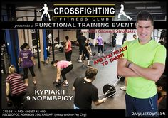 Functional Fitness Event by Giannis Stratakis... 9 Νοέμβρη...