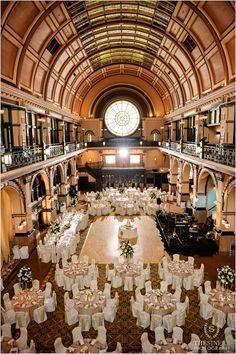 Stephanie Zach Crowne Plaza Union Station Wedding 0264 Reception Pinterest Fls And