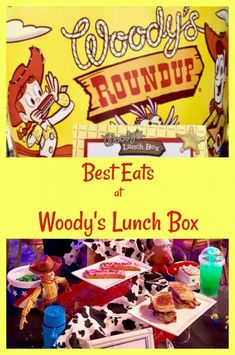 Best eats at Woody's Lunch Box in Toy Story Land #ToyStoryLand #WoodysLunchBox #WDW