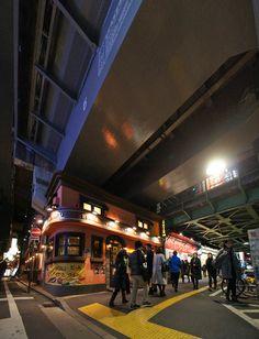 夜散歩のススメ「第1有楽橋 架道橋」東京都千代田区