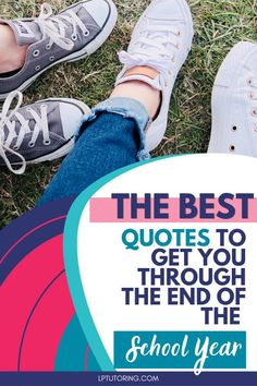 The end of the school year can be a struggle for everyone. These inspiring school quotes will help you power through the rest of the year! Click through to read them all! | #motivationalquotes #endoftheschoolyear #college #highschool #teachingtips via @lptutoring High School Organization, Learning Organization, Social Studies Lesson Plans, Math Lesson Plans, Teacher Blogs, New Teachers, English Lesson Plans, Best Quotes, Inspiring Quotes