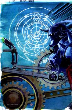 Fullmetal Alchemist Brotherhood.