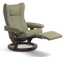 Stressless Wing | Leather Recliner Chairs - Ekornes.com