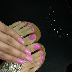 """#ShareIG Mani Monday  #ManiPedi details On my nails I'm wearing  the color, """"Models"""