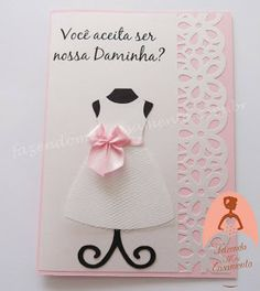 Fazendo Meu Casamento: Convite para Daminha / Florista - Lançamento!                                                                                                                                                                                 Mais