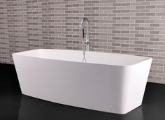 Description: Freestanding bathtub Material: Solid Surface white matt Code: 100 6001 Model: SolidCARE Size x 78 x cm with pop-up drainage & pipe w/ overflow hole Kitchen Accessories, Shower Tray, Bathtub Shower, Free Standing Bath Tub, Injection Moulding, Solid Surface, Wash Basin, Bathroom Fixtures, Stain Remover