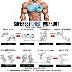 "3,219 Likes, 14 Comments - BodyBuilding & Fitness (@gym.fever12) on Instagram: ""Want a BIGGER Chest? Try this workout LIKE/SAVE IT if you found this useful. FOLLOW @Gym.Fever12…"""