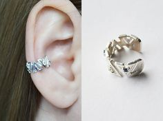"Shop put  favorites, we often have discounts and promotions! Pls, keep an eye on the store - https://www.etsy.com/ru/shop/EarringsEarcuffs      I make a gift with every order :)        Ear Cuff ""Victory"" - jewelery for true winners.  The modern woman is far from the image of the defenseless, Turgenev's girls. The credo of the absolute majority of ladies - autonomy and independence. What best can emphasize femininity strong lady, with an emphasis on its vulnerability and sensuality? Of…"