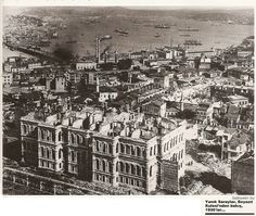 Âlipaşa Sarayı. Mercan.1930 lar.Şu anda otopark?