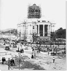 Palácio Monroe, Foto de Augusto Malta