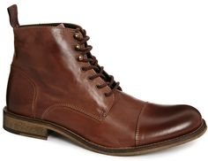 Selected Caleb Boots - Brown on shopstyle.com.au