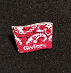 Canteen (date unknown) Canteen, Pin Collection, North America, Pop Culture