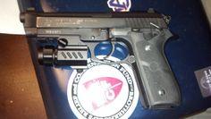 Taurus Firearms Pistol project (custom paint, holster