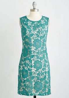 Going Album and Beyond Dress in Teal, #ModCloth