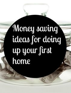 Money saving ideas for doing up your first home, doing up your first home #thrifty #frugal #firsthome