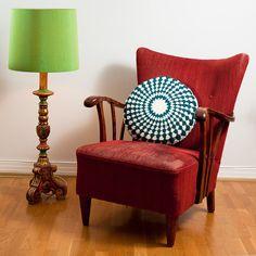 Round Cushion by eka http://www.etsy.com/listing/77789070/crochet-cushion-cover-18-inch-round-in $55.00 #crochet #etsy