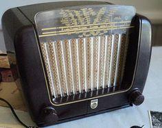 Vintage 1930s Old Emerson Rare Ingraham Cabinet Radio Amp