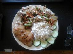 Indonesische kip uit de oven met wokgroenten | | Goed en gezond eten
