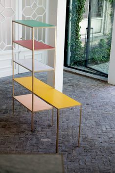 shelves by Muller Van Severen.