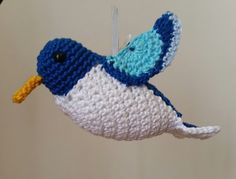 Hummingbird Amigurumi Crochet Pattern - not free, but great inspiration