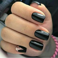 This series deals with many common and very painful conditions, which can spoil the appearance of your nails. SPLIT NAILS What is it about ? Nails are composed of several… Continue Reading → Nail Manicure, Diy Nails, Cute Nails, Nail Polish, Diy Nail Designs, Black Nail Designs, Minimalist Nails, Stylish Nails, Trendy Nails