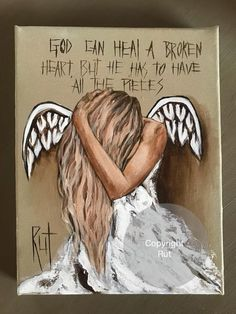 God 🙏🏻 please help me Rock Kunst, Healing A Broken Heart, Angel Drawing, Angel Quotes, Angel Pictures, Angels Among Us, Guardian Angels, Angel Art, Christian Art