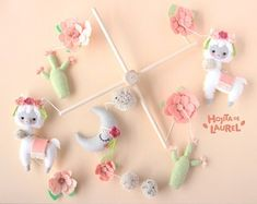 Llama Plush Toy Alpaca Plushie Ecru Llama Stuffed Toy Llama | Etsy Cot Mobile, Baby Crib Mobile, Baby Cribs, Alpaca Plushie, Llama Plush, Llama Alpaca, Boho Nursery, Alpacas, Nursery Themes