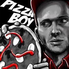 pizza boy banner