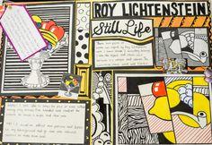 roy lichtenstein homework
