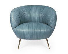 Le mobilier des decorateurs : Fauteuil Souffle, Kelly Wearstler.
